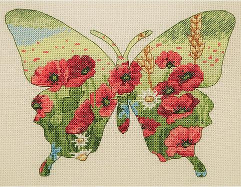 Butterfly Silhouette - Maia Collection - Kit de punto de cruz