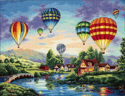 Balloon glow - 35213 Dimensions - Kit de punto de cruz