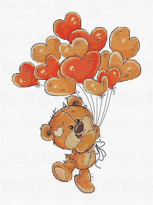 B1176 Teddy-bear