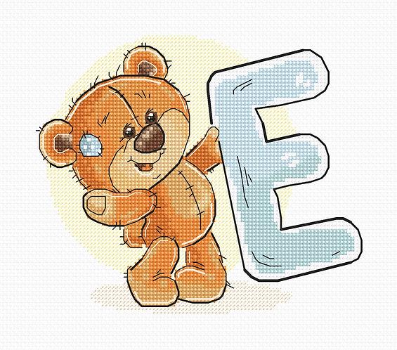 "B1206 Letter ""E"""