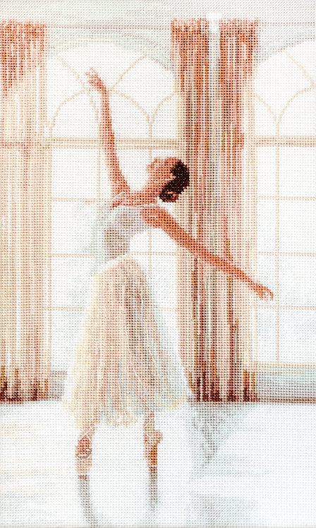 LETI906 Ballerina - Kit de Punto de Cruz Letistitch