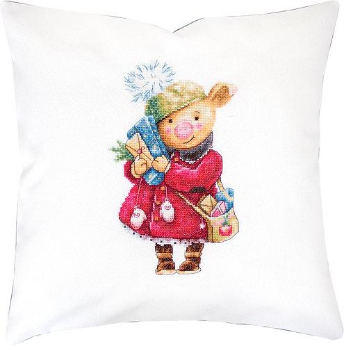 PB190 Pillowcase | Cross Stitch Kit