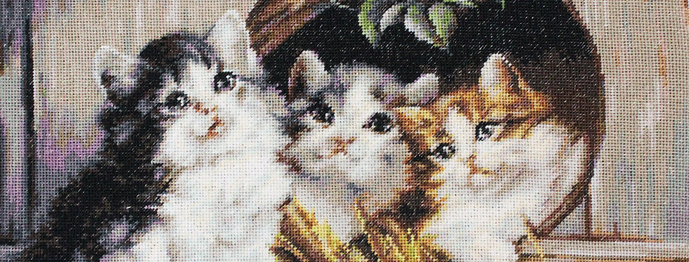 B520 Friendly Shelter - Cross Stitch Kit Luca-S