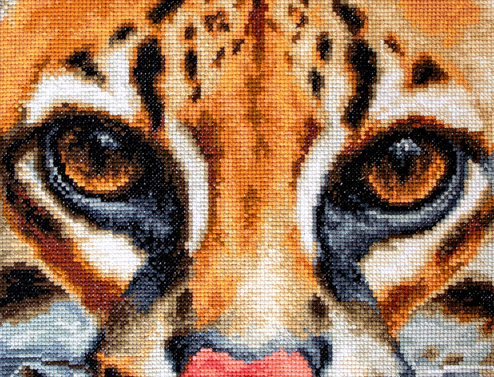 BU4008 Leopardus pardalis - Cross Stitch Kit Luca-S