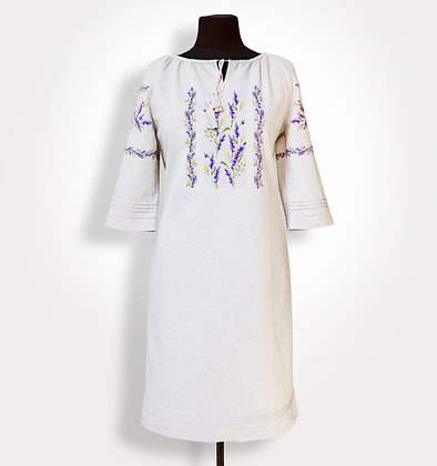 BRF-201/1 - Dress for cross stitch embroidery