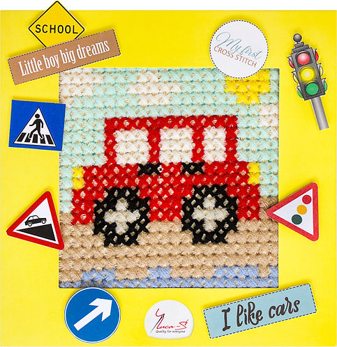X04 Car - Cross Stitch Kit Luca-S