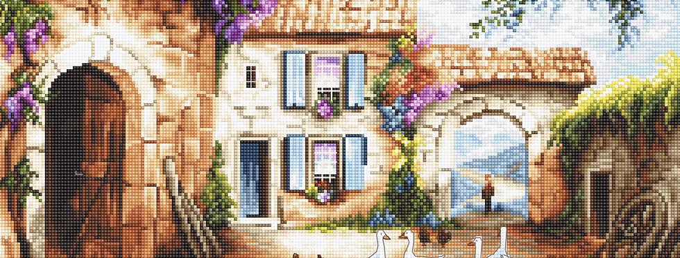 LETI902 Village - Cross Stitch Kit LETISTITCH