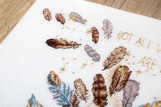 LETI 984   Cross Stitch Kit Letistitch
