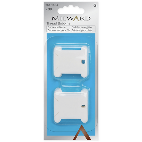 30 Milward Plastic Bobbins