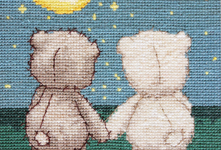 B1091 Bruno and Bianca - Cross Stitch Kit Luca-S