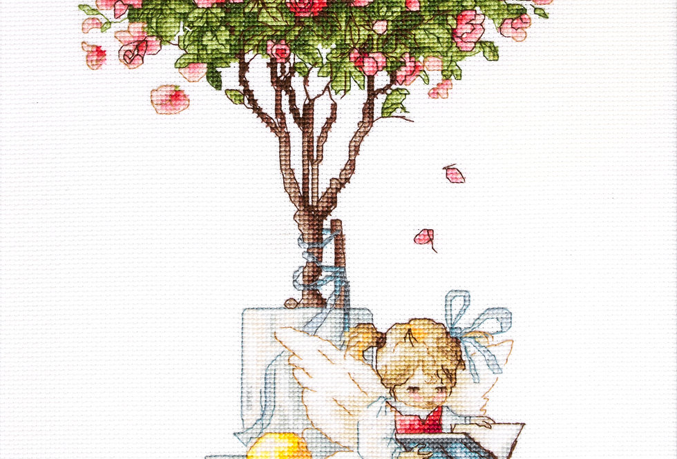 B1115 The fairy of the roses - Cross Stitch Luca-S