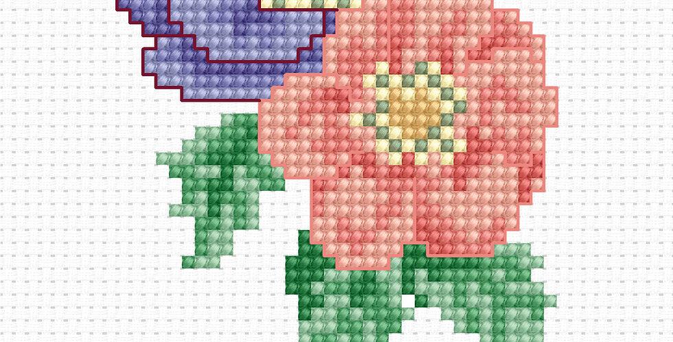 B014 - Cross Stitch Kit | Beginners