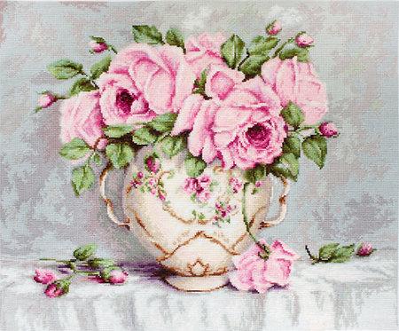 BA2319 Pink Roses