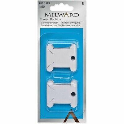 50 Milward Card Bobbins