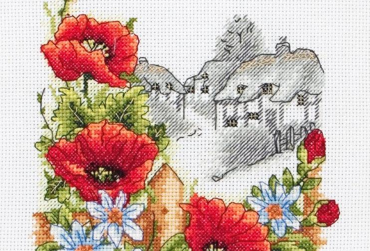 Anchor Essentials Cross Stitch Kit - Summer Days