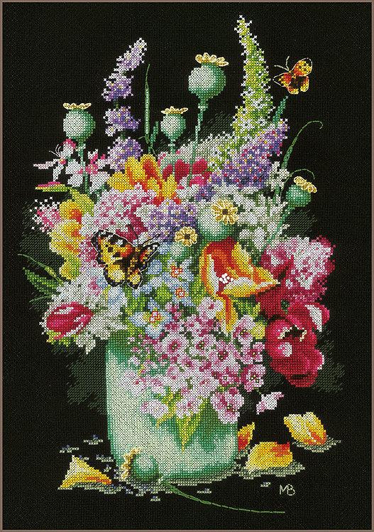 Energía de las flores - Lanarte - Kit de punto de cruz