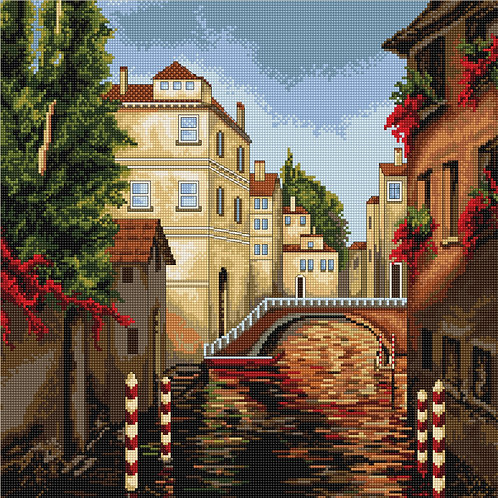 B202 Venice - Cross Stitch Kit Luca-S