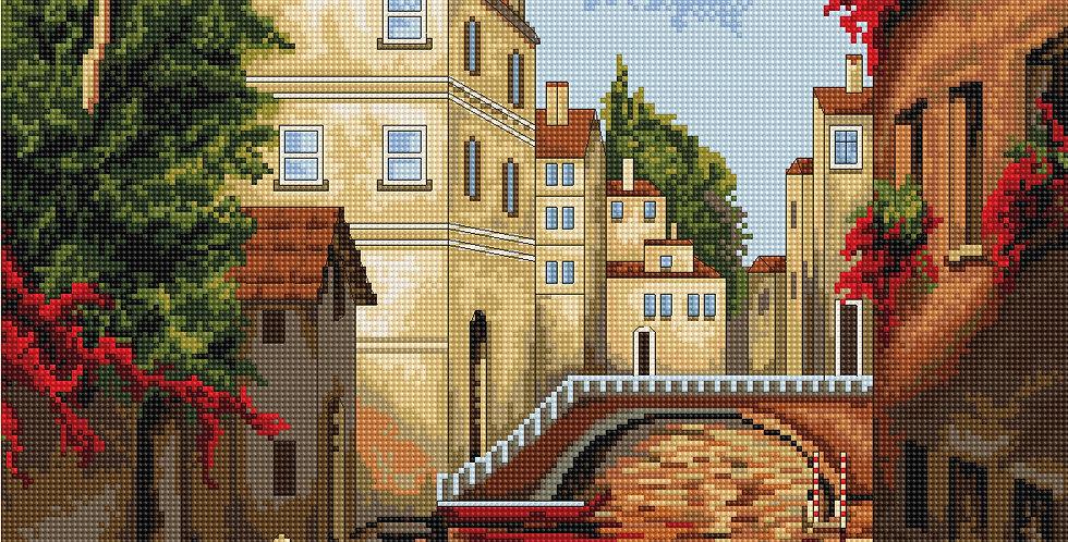 B202 Venice - Cross Stitch Kit Luca-S