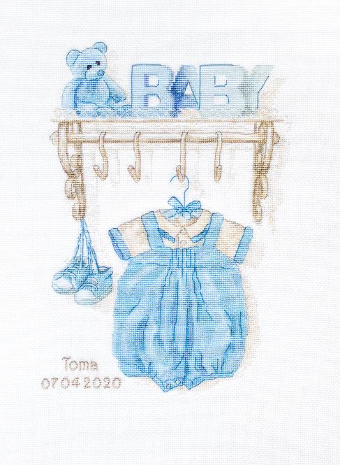 B1174 Baby boy birth
