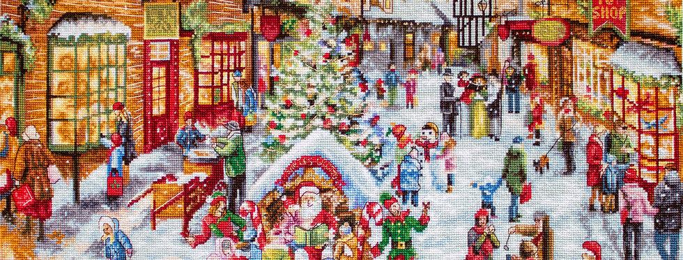 LETI909 Christmas Eve - Cross Stitch Kit LETISTITCH