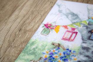 LETI 971   Cross Stitch Kit Letistitch