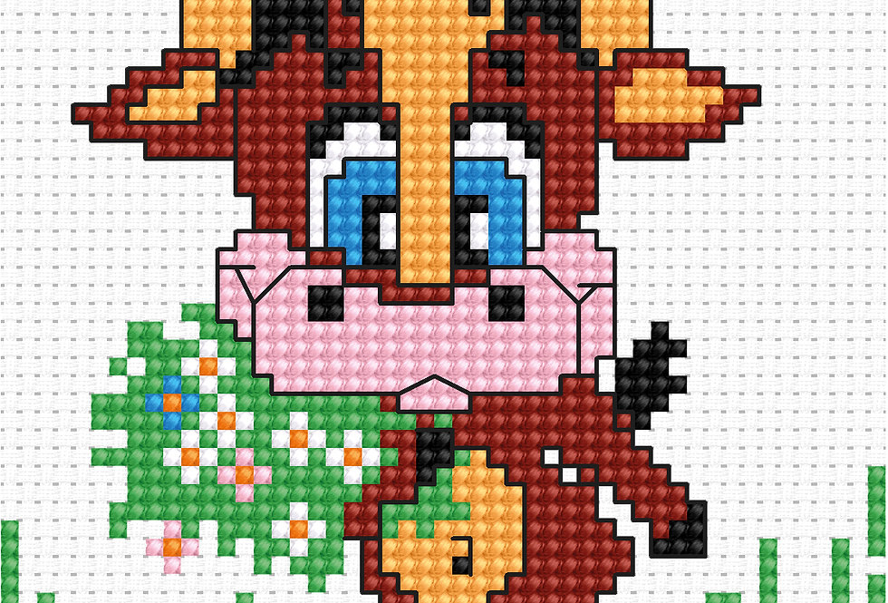 B047 - Cross Stitch Kit | Beginners