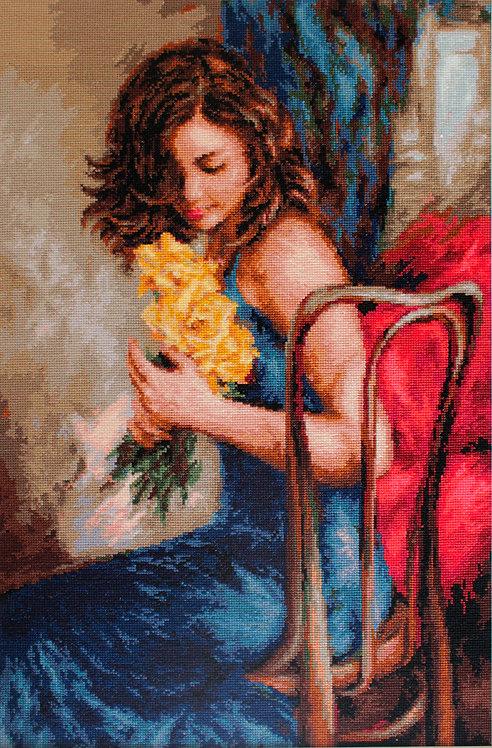 B532 Yellow roses