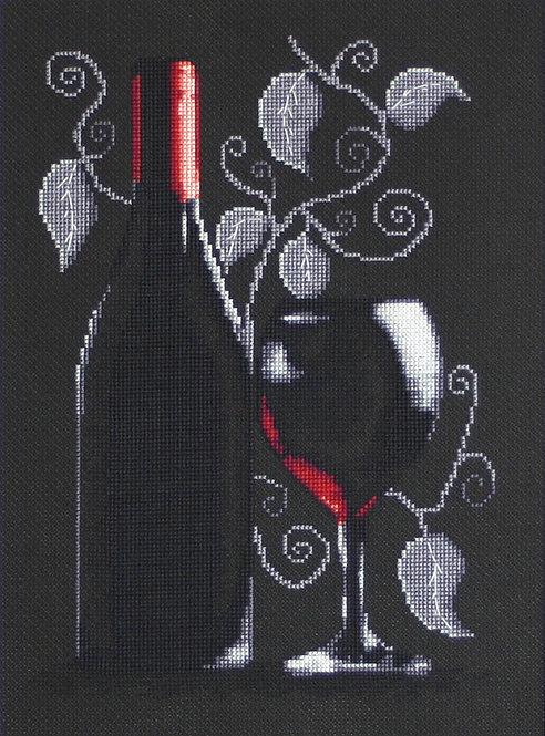 B2220 Bottle of wine