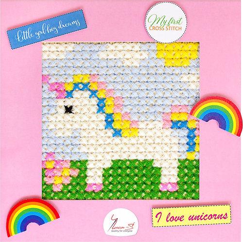X03 Unicorn - Cross Stitch Kit Luca-S