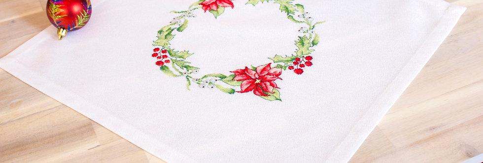 FM002 Christmas Flowers - Tablecloth Luca-S