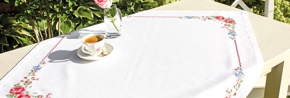 FM006 Roses - Tablecloth Luca-S