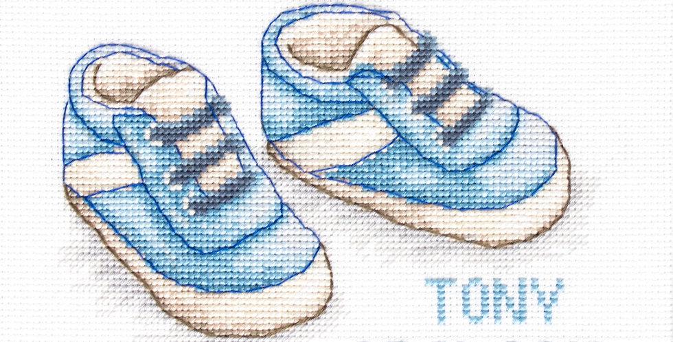 B1138 Baby Shoes - Cross Stitch Kit Luca-S