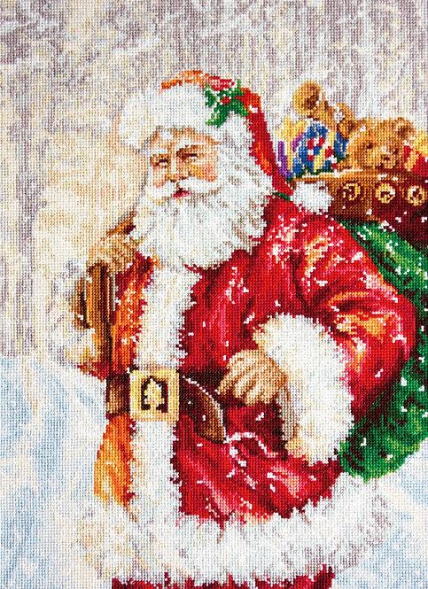 B575 Papa Noel - Luca-S - Kit de Punto de Cruz