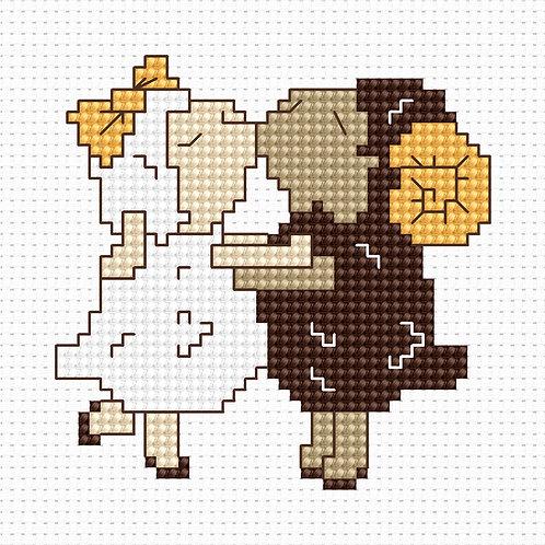 B039 - Cross Stitch Kit Luca-S