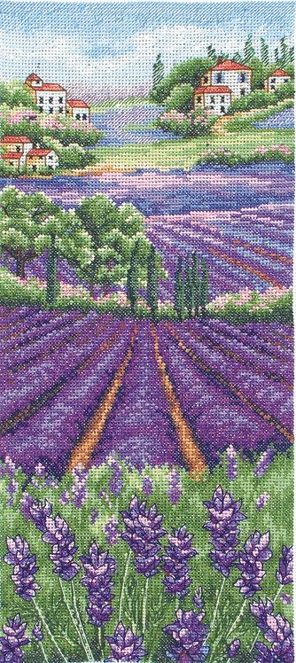 PCE0807 Provence Lavender Scape - Anchor - Kit de punto de cruz