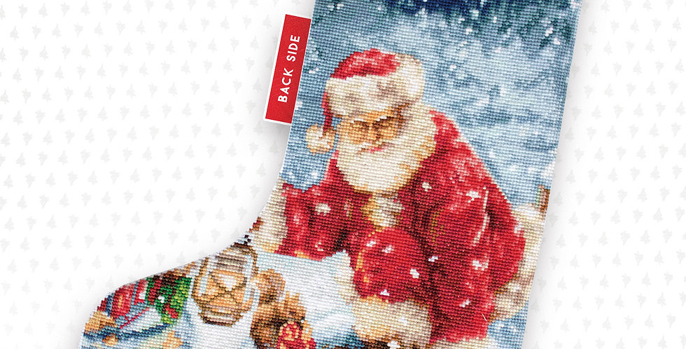 PM1231 Santa Claus Gifts - Christmas Stocking Luca-S