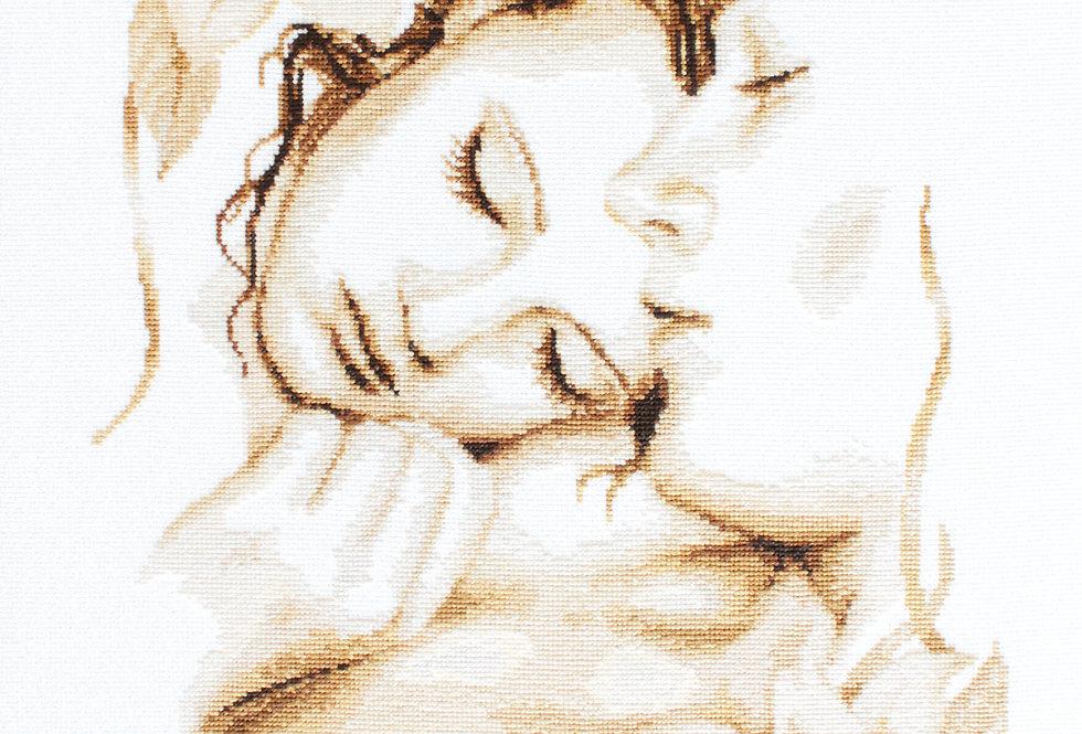 B295 Couple in love - Cross Stitch Kit Luca-S
