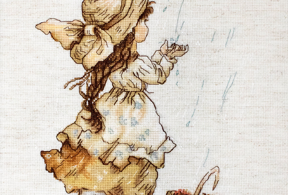 B1077 Summer Rain - Cross Stitch Kit Luca-S