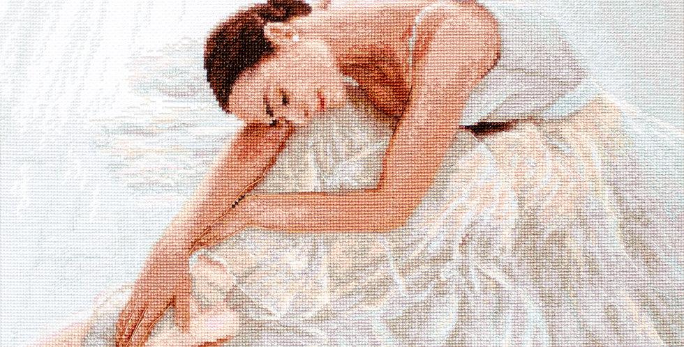 LETI 924 Tenderness - Dancer - Cross Stitch Kit LETISTITCH