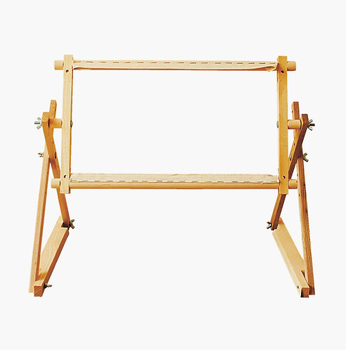 Square embroidery frame for chair