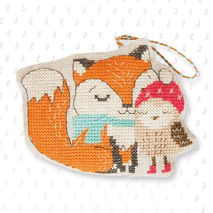 JK009 -fox and owl
