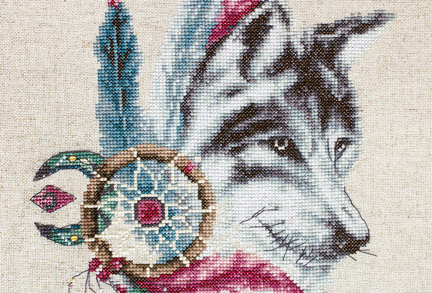 B2305 Wolf - Cross Stitch Kit Luca-S