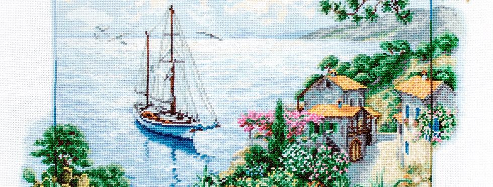 B2343 Sea Views - Cross Stitch Kit Luca-S