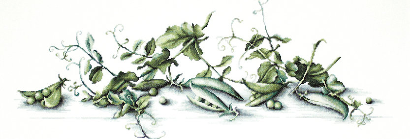 B2256 Peas - Cross Stitch Kit Luca-S
