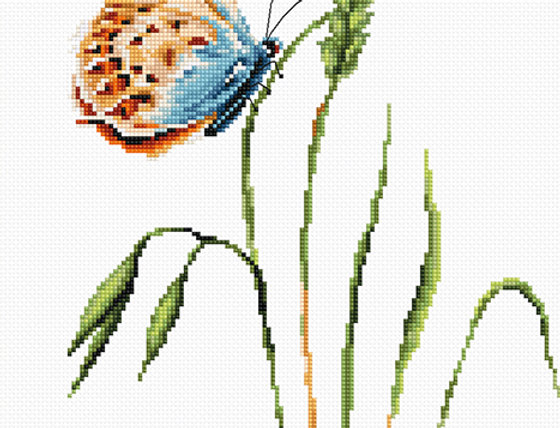 B2244 Smell of Spring - Cross Stitch Kit Luca-S