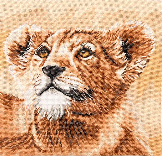 Cachorro de león - Pequeña princesa - Maia Collection - Kit de punto de cruz