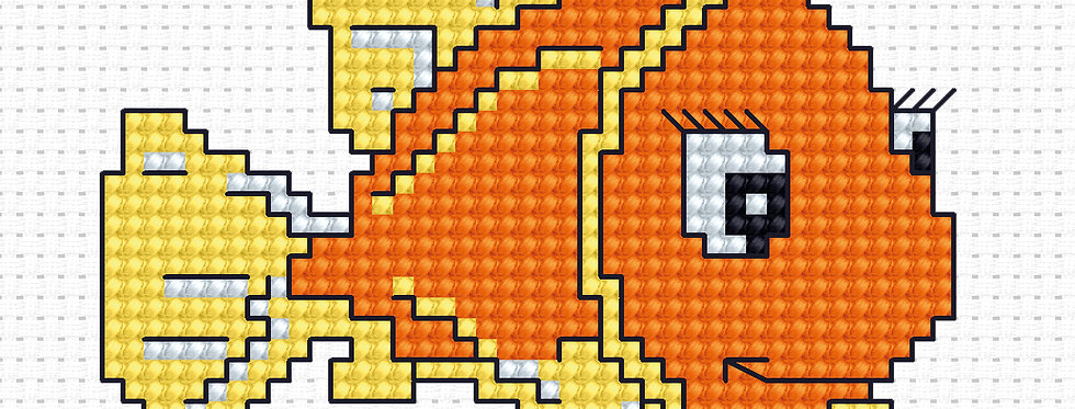 B081 - Cross Stitch Kit | Beginners