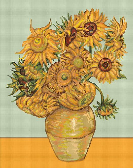 B422 Sunflowers