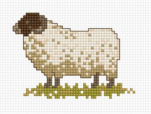 B027 - Cross Stitch Kit Luca-S