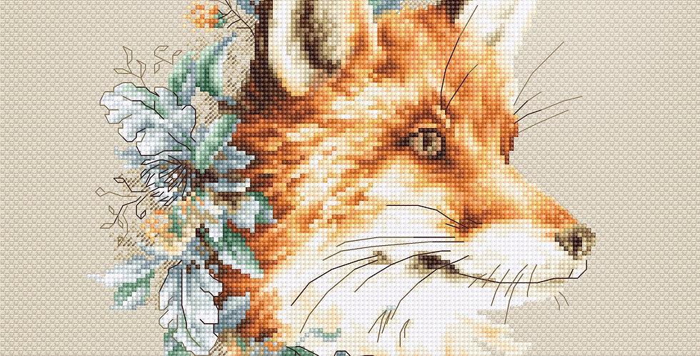 B2292 Fox - Cross Stitch Kit Luca-S